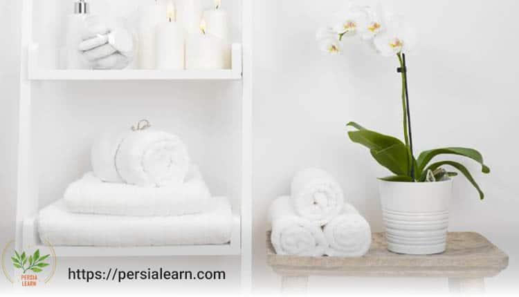 گل ارکیده مناسب برای سرویس بهداشتی